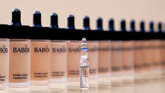 BABOR-Make up-Hydra Liquid Foundation Range Ampoule-1