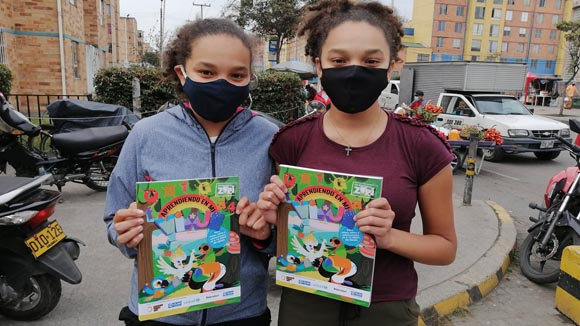 Beiersdorf-Ashoka-Girls with Zuri booklet from Plan International-1